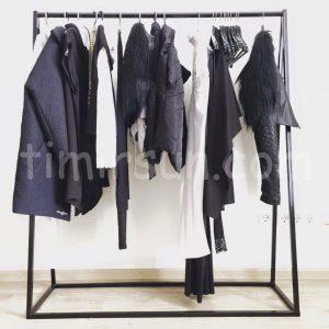 Стойка для одежды лофт