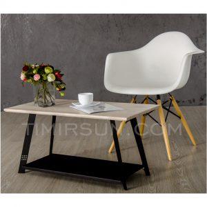 Кофейные столики из металла и дерева