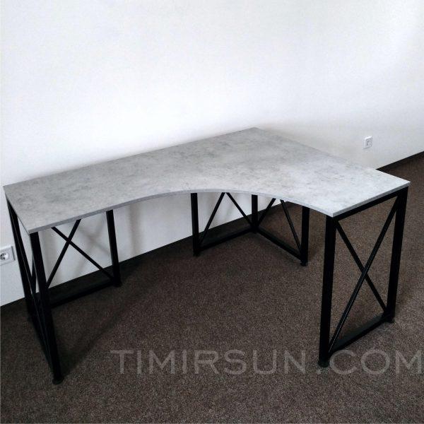 Изготовление угловых столов еа заказ